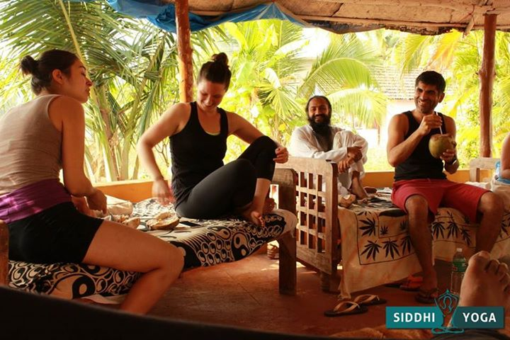 Siddhi Yoga Center Goa 200 hrs Yoga Teacher Training Goa, Yoga Teacher Training Centre,