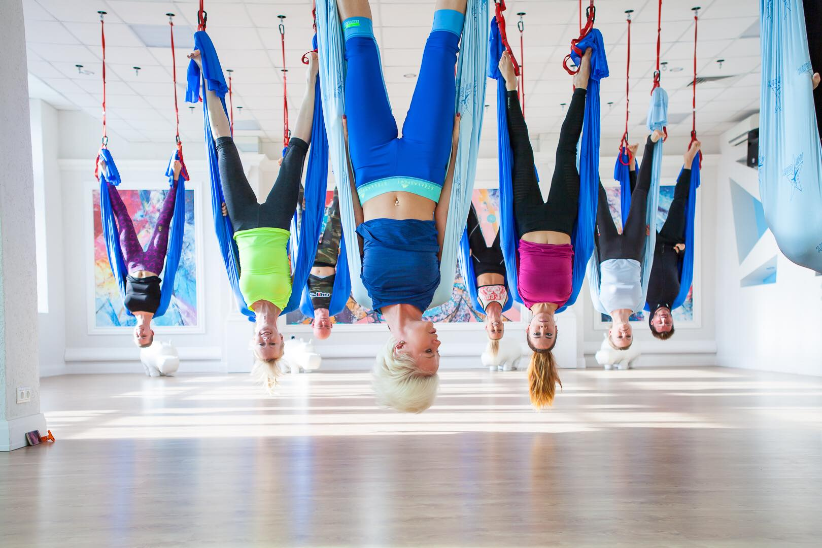 AntiGravity®  Pilates And Yoga Center Moscow