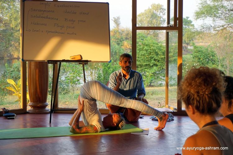 AyurYoga Eco Ashram 200 hrs Yoga Teacher Training Mysore, 300 hrs Yoga Teacher Training Mysore, Ayurveda Retreat, Ayurveda Treatment Centre, Yoga Retreats Mysore,